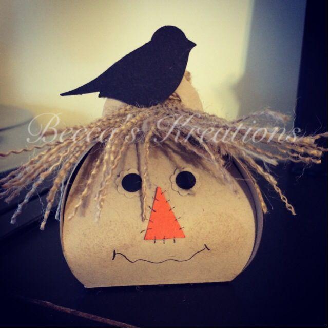 stampin+up+curvy+die | Scarecrow using Stampin' Up!'s Curvy Keepsake Box Thinlit. See the die ...