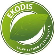 Ekodis - Zdrowa żywność ekologiczna, min.: czarnuszka, jagody goji, kurkuma, olej kokosowy, pestki dyni, pestki moreli, sól himalajska