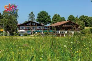 Dieses 3-Sterne-Hotel in Sulzberg besticht durch einen Innenpool, eine moderne Küche im alpinen Stil und einen einfachen Zugang zu den Wander- und...