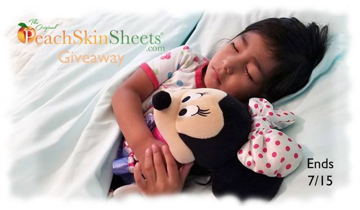 Want some super soft sheets? Enter to win a set of PeachSkinSheets here!