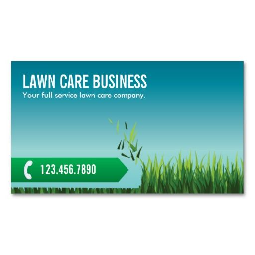 Landscaping business card ideas for Landscaping business