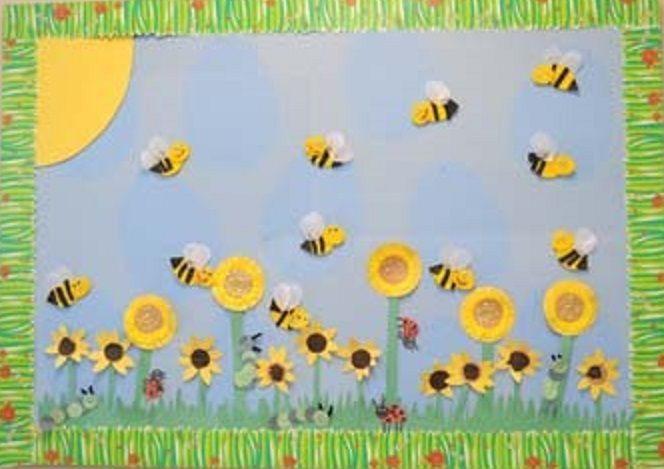 * Bijenschilderij...