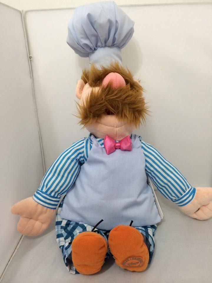 Cozinheiro Sueco 57cm - Muppets Show Disney Store - R$ 150,00 no MercadoLivre
