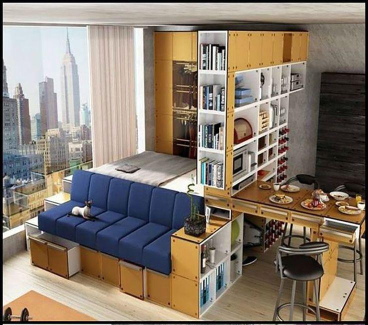 63 best 1000 millones de ideas para el hogar images on for Decoracion de espacios pequenos