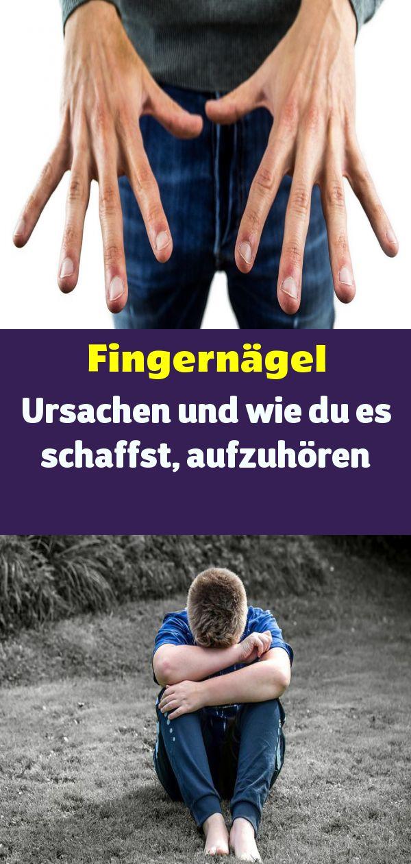Fingernägel Kauen Ursachen