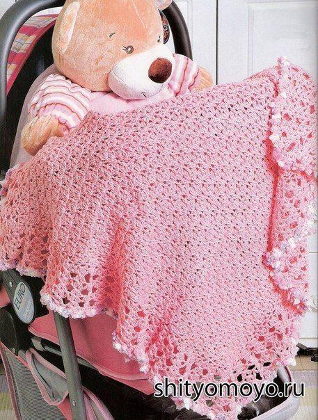 57 best Mantas crochet images on Pinterest | Afganos crochetados ...