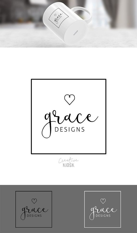 Boutique Logo. Etsy Shop Logo. Instant Business by CreativeKiosk