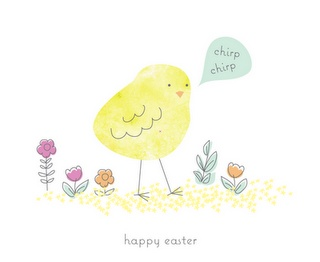 Cute Easter card! :-)