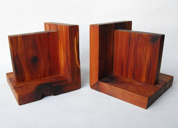 how to make wooden bookends