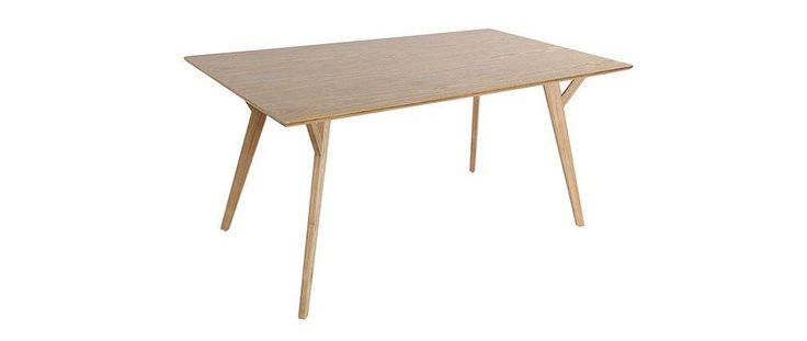 Table à manger design 160cm frêne KYOTO