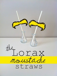 These Mustache Straws will add to the atmosphere of your outdoor movie party - A unique movie night theming idea from Southern Outdoor Cinema.