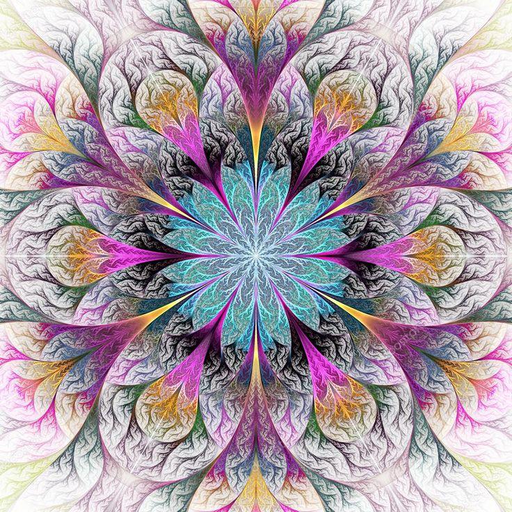 Beautiful Fractal Flowers | Över 1 000 bilder om Fracs på PinterestHelig geometri, Digital konst ...