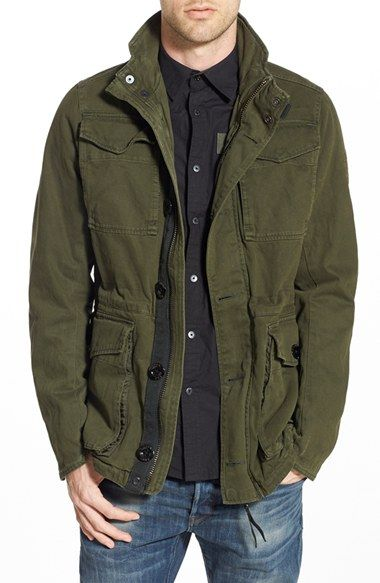 G-Star+Raw+'Falco'+CanvasField+Jacket+available+at+#Nordstrom