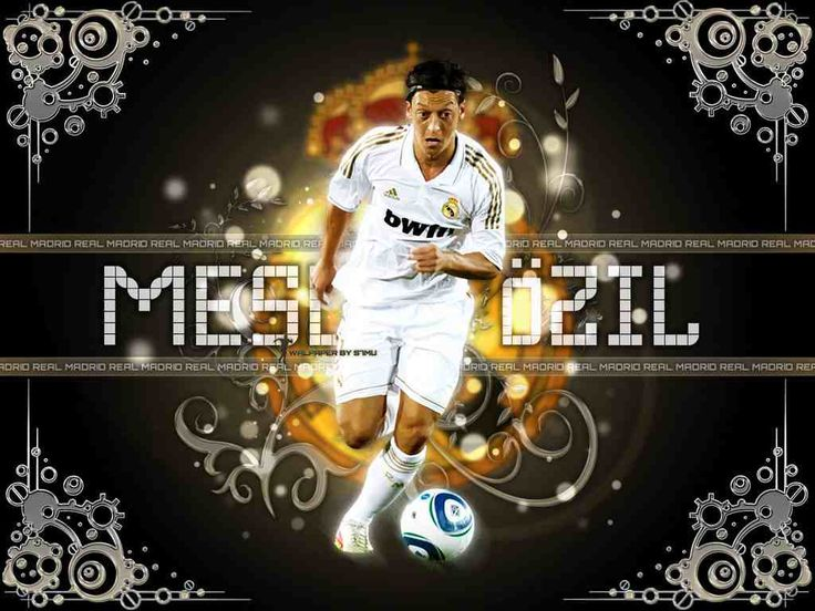 Awesome Mesut Ozil Real Madrid HD Wallpaper 2012 #wallpaper