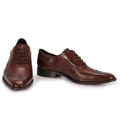 Sapato Social Masculino Rogério Melo - Marrom