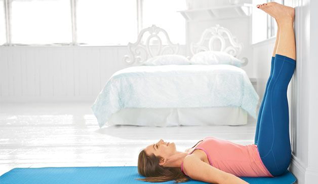 yoga to help you sleep! I will definitely be trying this! I NEED my beauty rest. rest! What I would do for some good non-interrupted sleep @ night!