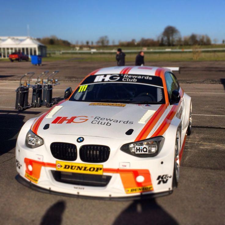 BMW M 125i - Andy Priaulx + WSR + BMW UK + IHG Rewards Club