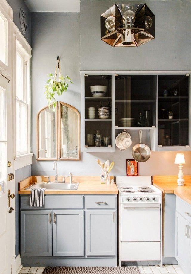 15 Cocinas Pequenas Practicas Llenas De Soluciones Decoracion De - Cocinas-pequeas-y-practicas