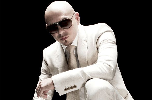 Pitbull. With his dirty, dirty Cuban Spanish. Mama like.