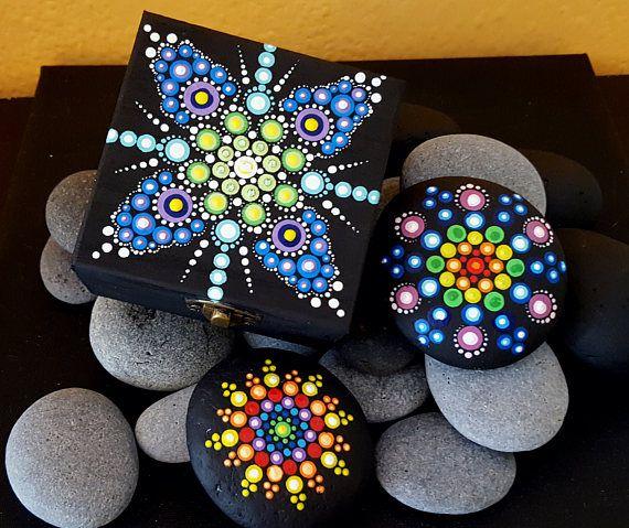 BarbaraMandalaTFS36  Mandala Multicolor Jewellery BoxSummer