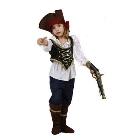 Disfraz de Pirata  El disfraz incluye: Pantalon, camisa, chaleco, sombrero y cubrebotas   http://www.disfracessimon.com/disfraces-infantiles-bebe-nino-nina/909-disfraz-pirata-p-909.html