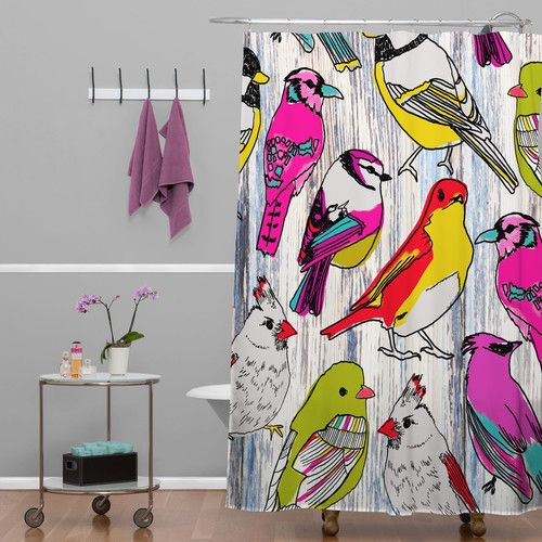 Curtains Ideas curtains birds theme : 17 Best ideas about Bird Shower Curtain on Pinterest | Scrap quilt ...