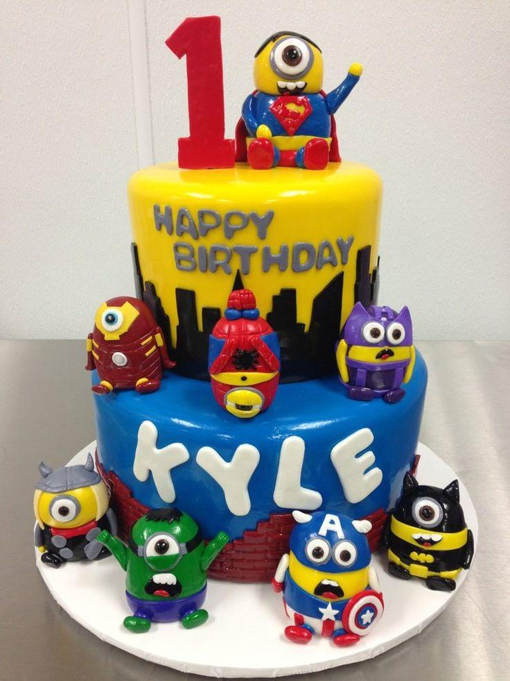 39 best Minion Superhero Party images on Pinterest Minion