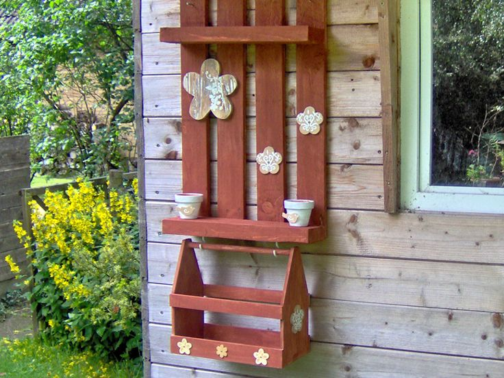 17 best images about love clever repurposing on pinterest gardens planters and garden art - Badezimmerregal weiay ...