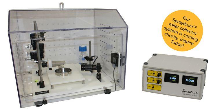 The Spraybase® electrospinning system