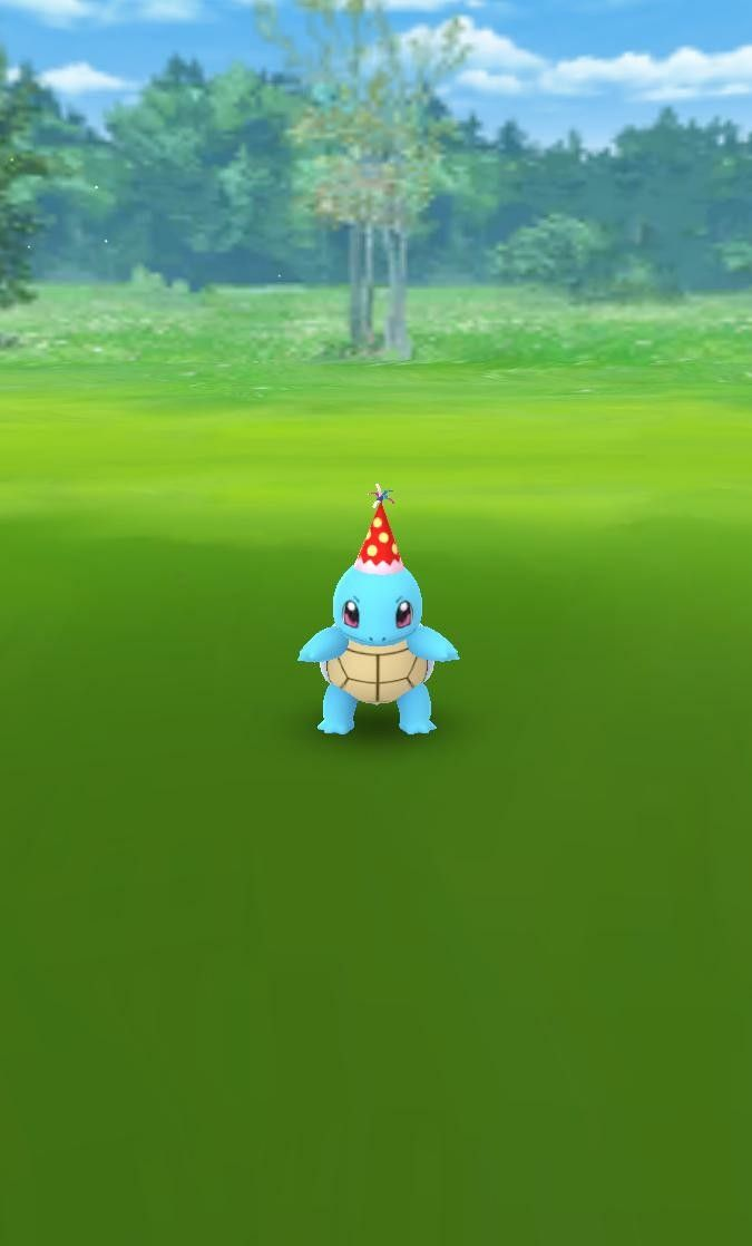 Squirtle Party Hat All Pokemon Games Squirtle All Pokemon