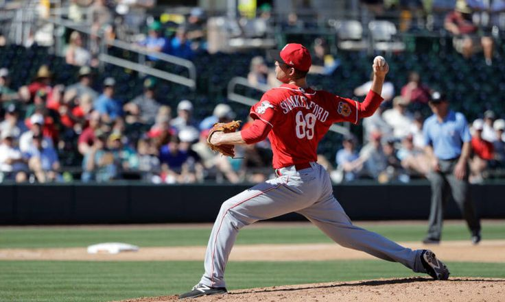 Reds promote Kevin Shackelford from Triple-A = The Cincinnati Reds announced on Tuesday that they have selected right-handed pitcher Kevin Shackelford from Triple-A Louisville while fellow right-hander Austin Brice was optioned to the same affiliate. Additionally.....