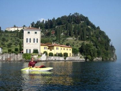 Kayaking in Pescallo