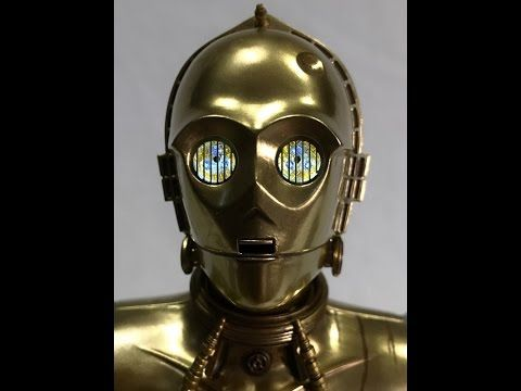 Electrified Porcupine - Toys, Collectibles, Action Figures, Music, WWE, and More!: Star Wars: C-3P0 Sixth Scale Figure Review from Si...