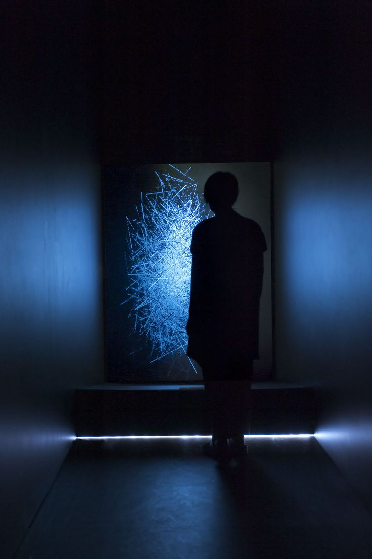 Duality of Light by Lynette Wallworth #LynetteWallworth #lightartaday #lightart