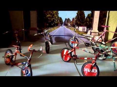 Bicicletas de latas de aluminio - YouTube