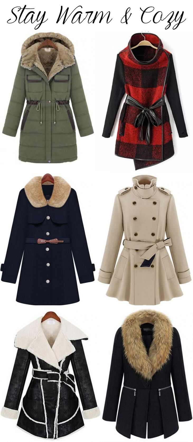 Stay Warm and Cozy with These Cute Jackets