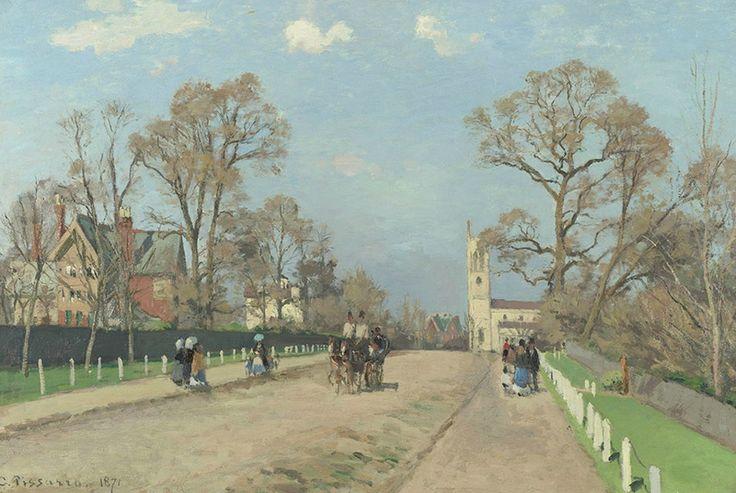 Camille Pissarro -The Avenue Sydenham 1871