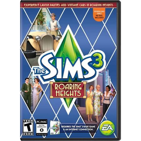 The Sims 3 Roaring Heights Expansion Pack (PC/Mac) (Digital Code) - Walmart.com