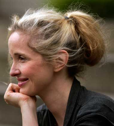 The wonderfully expressive face of Julie Delpy