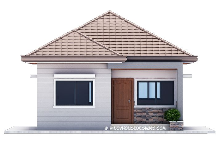Ruben Model Is A Simple 3 Bedroom Bungalow House Design With Total Floor Area Of 82 0 S Simple Bungalow House Designs Bungalow House Design Brick House Designs