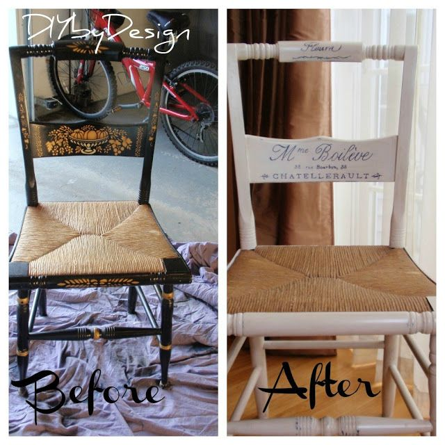 DIY By Design: Hitchcock Chair Makeover
