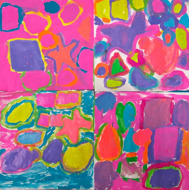 Cassie Stephens: In the Art Room: A Unit on Shape for Kindergarten, Part 1