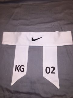 White Custom ID Nike 2.0 Head Tie Headband White Black Red Navy - Thumbnail  2  39d04e45e96