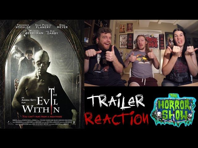 """""""The Evil Within"""" 2016 Trailer Reaction - The Horror Show"""