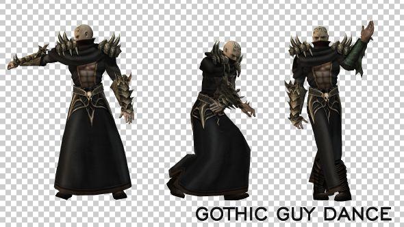 Gothic Guy Dance