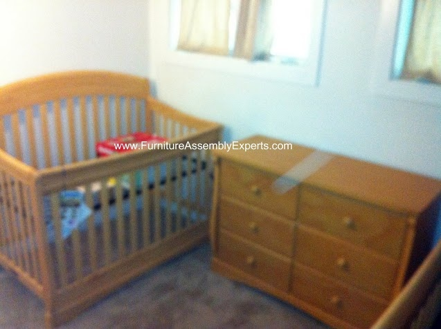 toys r us baby crib and dresser assembled in fairfax va by
