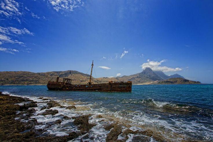 Gramvousa Shipwreck, Crete