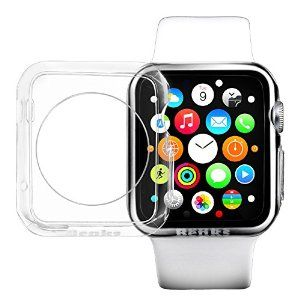 Apple Watch Case,Flexible Premium Soft TPU Transparent Full Body,Ultra Slim. 42mm&38mm.CODE [YR9R23XA]