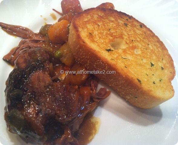 Pot Roast- Crock Pot Perfection, just a few ingredients and budget friendly. #roast #crockpot #recipe