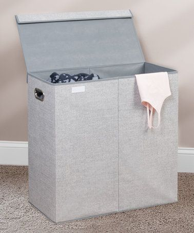 Look what I found on #zulily! Aldo Folding Double Laundry Hamper #zulilyfinds